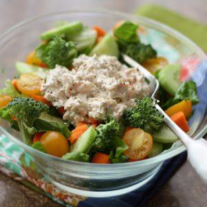 5 Minute Ranch Chicken Salad