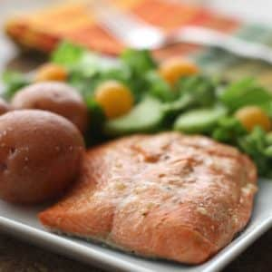 Orange Citrus Salmon