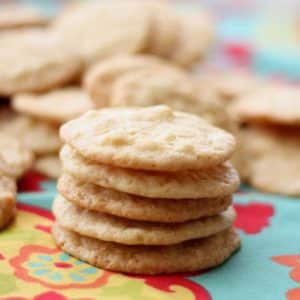 White Chocolate Macadamia Nut Lemon Cookies {traditional and gluten free recipes}