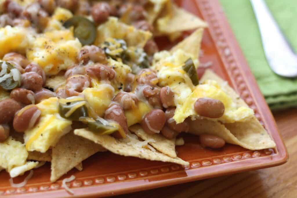 Breakfast Nachos recipe by Barefeet In The Kitchen