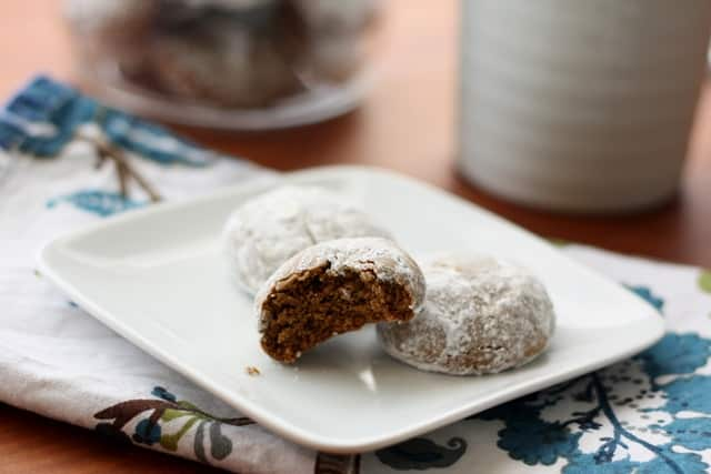 Pfeffernusse ~ German Pepper Nut Cookies recipe by Barefeet In The Kitchen