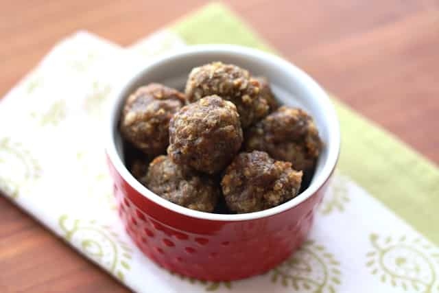 Taco Meatballs recipe by Barefeet In The Kitchen