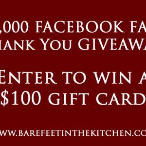 100,000 Facebook Fans Giveaway!