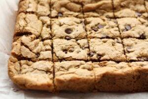 Chocolate Chip Cookie Bar Recipe X