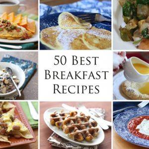 50 Best Breakfast Recipes