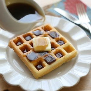 Brown Sugar Butter Syrup for waffles or pancakes