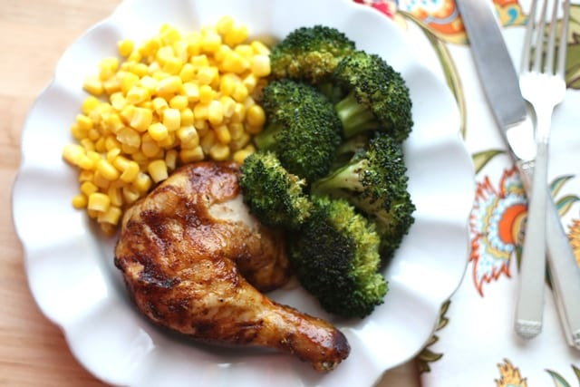 Brown Sugar Spiced Baked Chicken Recipe