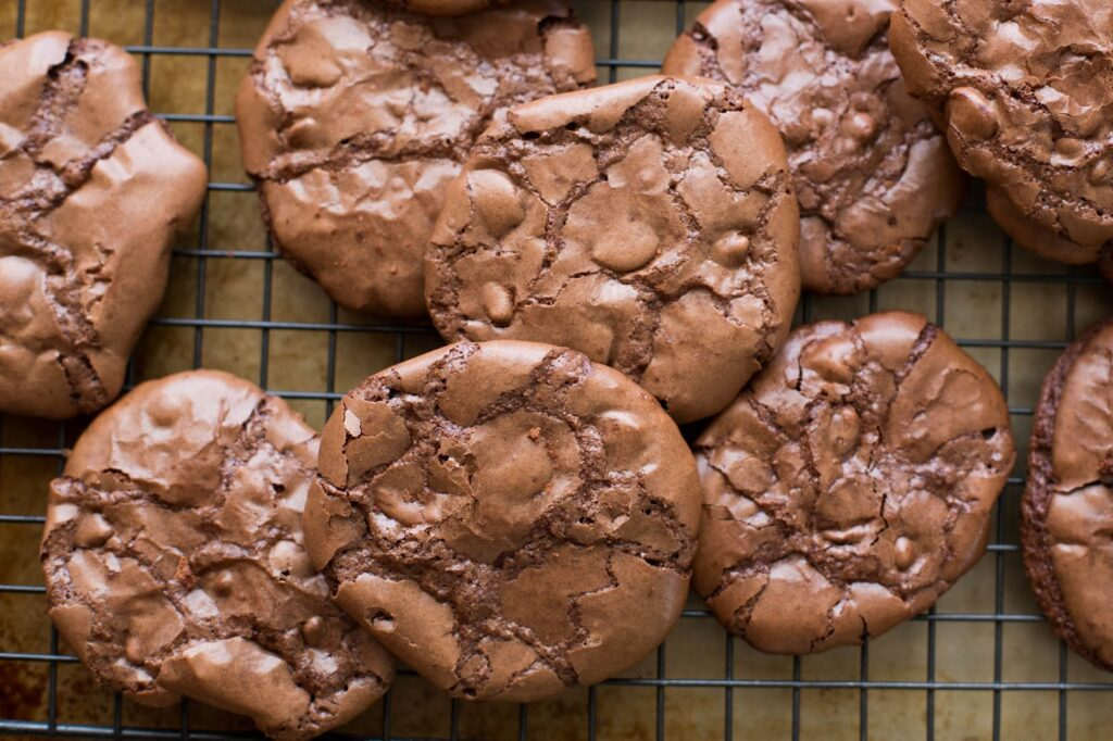 flourless chocolate brownie cookies recipe