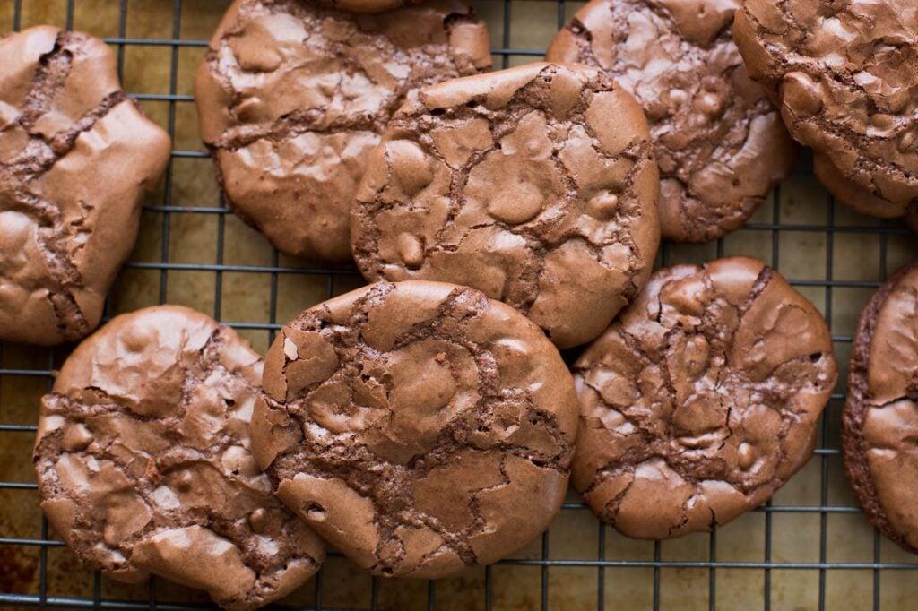 flourless chocolate brownie cookies recipe