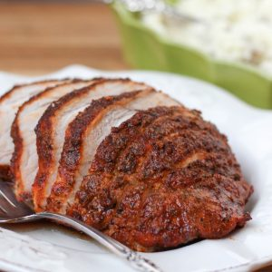 Herb Rubbed Sirloin Tip Pork Roast