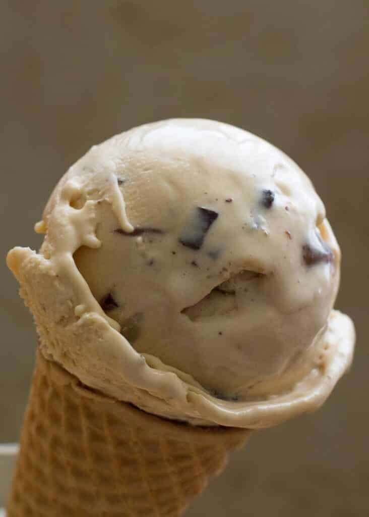 Dulce De Leche Ice Cream | barefeetinthekitchen.com