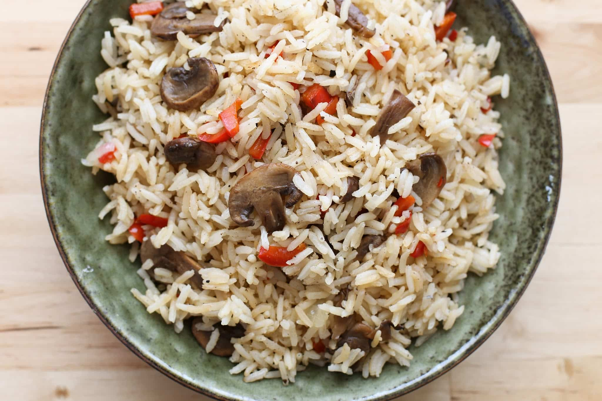 Brown Rice Pilaf With Mushrooms images
