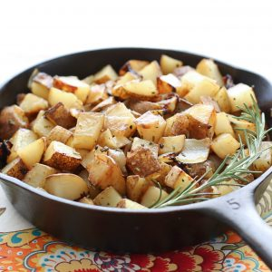 Rosemary Onion Skillet Potatoes