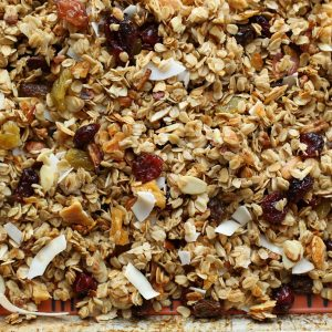 Slow Cooker Tropical Coconut Granola