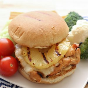 Hawaiian Grilled Chicken Sandwiches