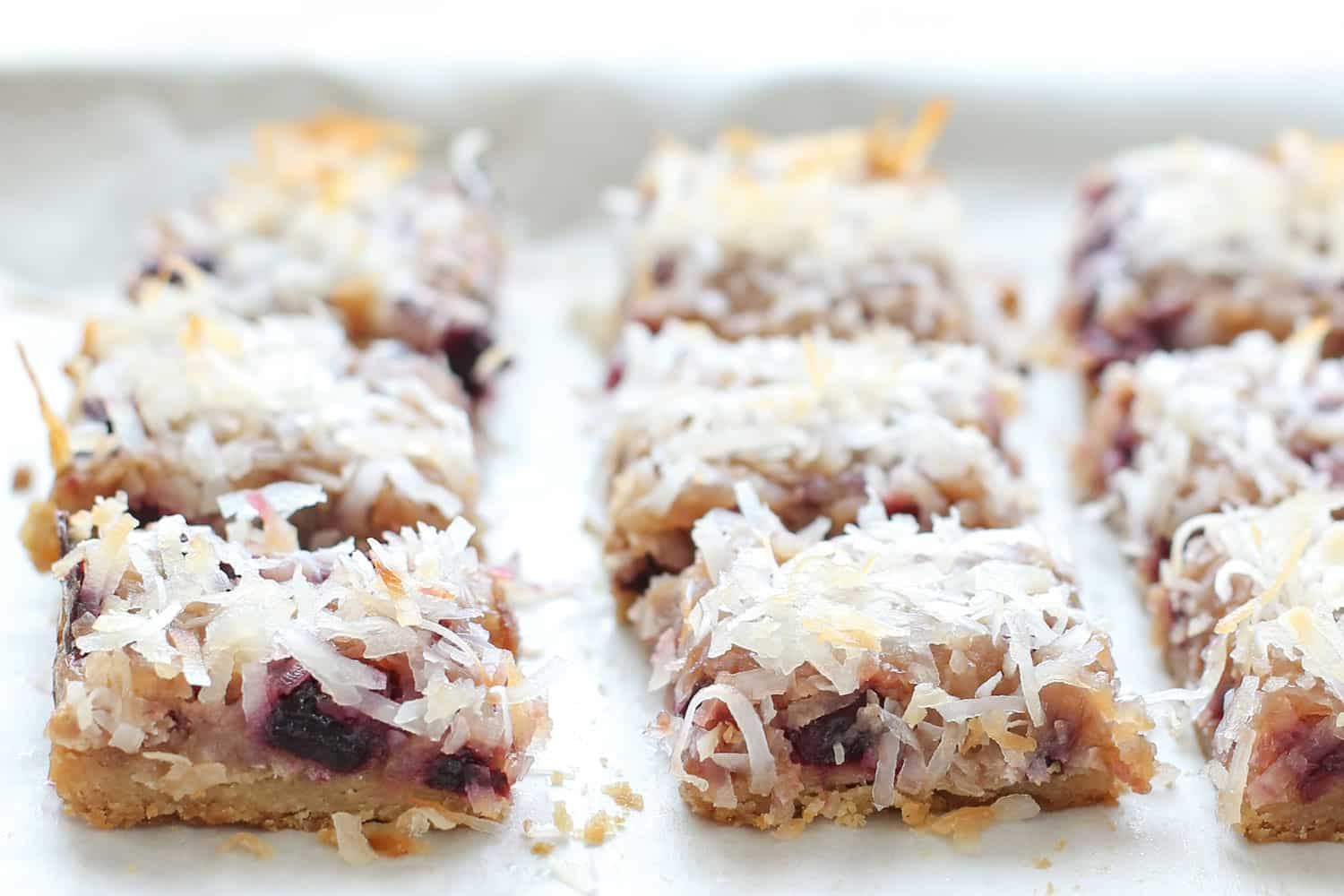 Cherry Coconut Bars {traditional and gluten free recipes ...