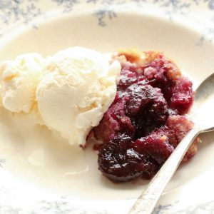 Grandma's Cherry Flop {traditional and gluten free recipes}