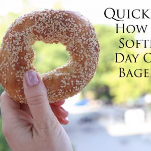 How To Soften Day Old Bagels
