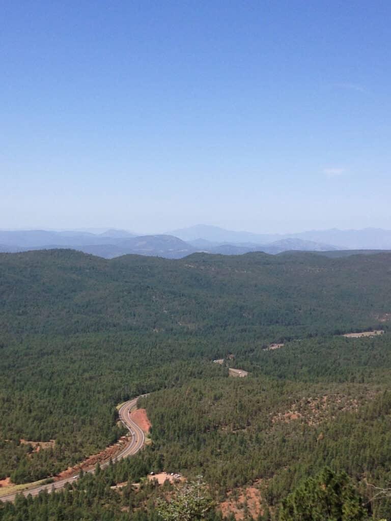 Hiking Trail View - Mogollon Rim, Sitgreaves National Forest, AZ