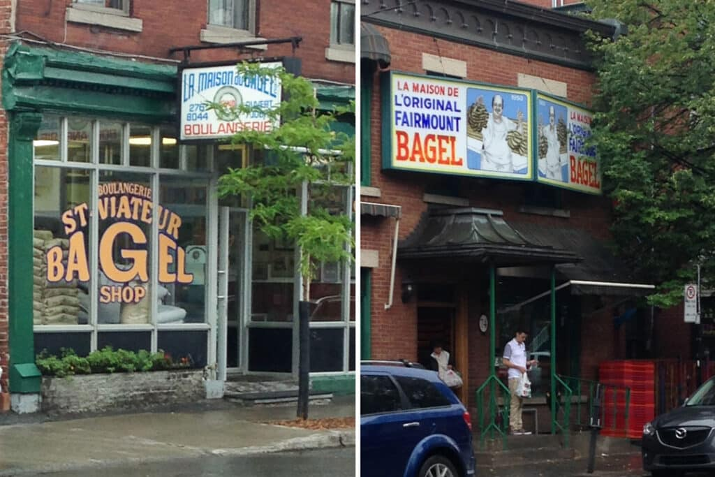 Montreal's Fairmount Bagels vs St-Viateur Bagels ~ which one is better?