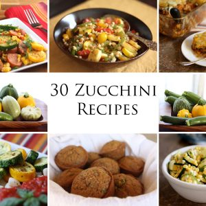 Summer Squash: 30 Zucchini Recipes