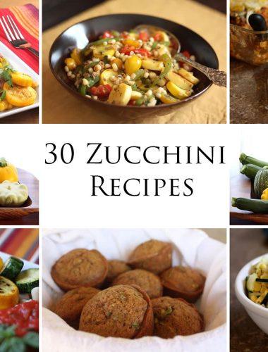 Summer Squash: 30 Zucchini Recipes