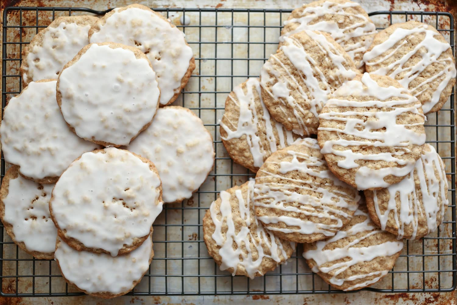 Old Fashioned Iced Oatmeal Cookies {traditional and gluten ...
