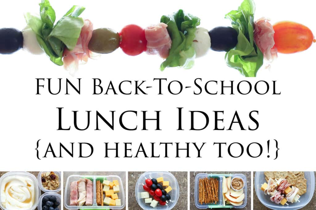 A Collection of Back-To-School Lunch Ideas by Barefeet In The Kitchen