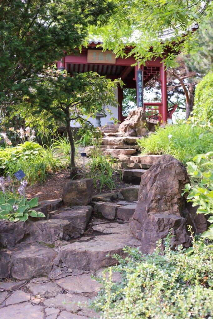 Bonsai Garden inside Montreal's Botanical Garden ~ photos by Barefeet In The Kitchen