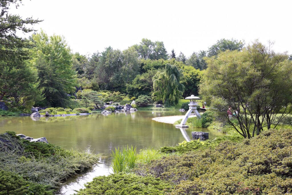 Japanese Garden at Montreal Botanical Garden ~ photos by Barefeet In The Kitchen