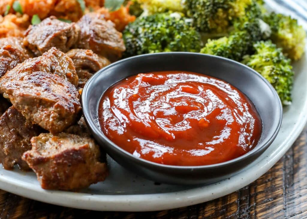Homemade Steak Sauce is a dinner saver! Never run out again.
