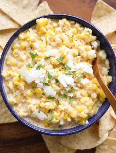 Elote {Hot Mexican Corn Dip} & Sedona, AZ
