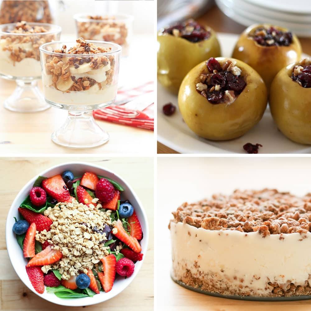 Granola Recipes by Barefeet In The Kitchen