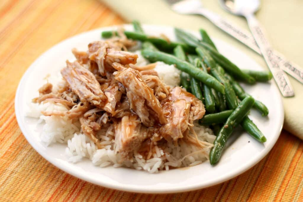 Slow Cooker Pork Roast with a Sweet