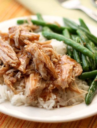 Slow Cooker Pork Roast with a Sweet Tangy Glaze