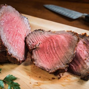 Southwestern Crusted Roast Beef
