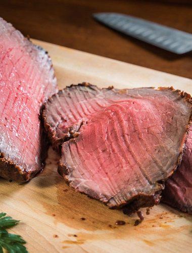 Southwestern Crusted Roast Beef