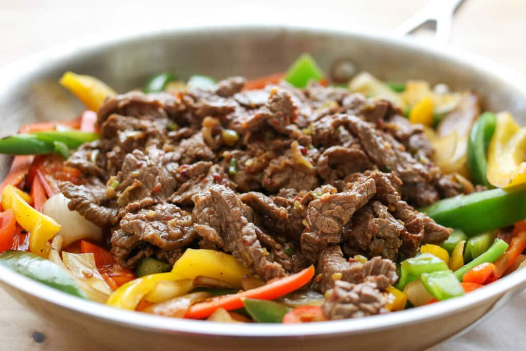 Korean Beef Bulgogi - recipe by Barefeet In The Kitchen