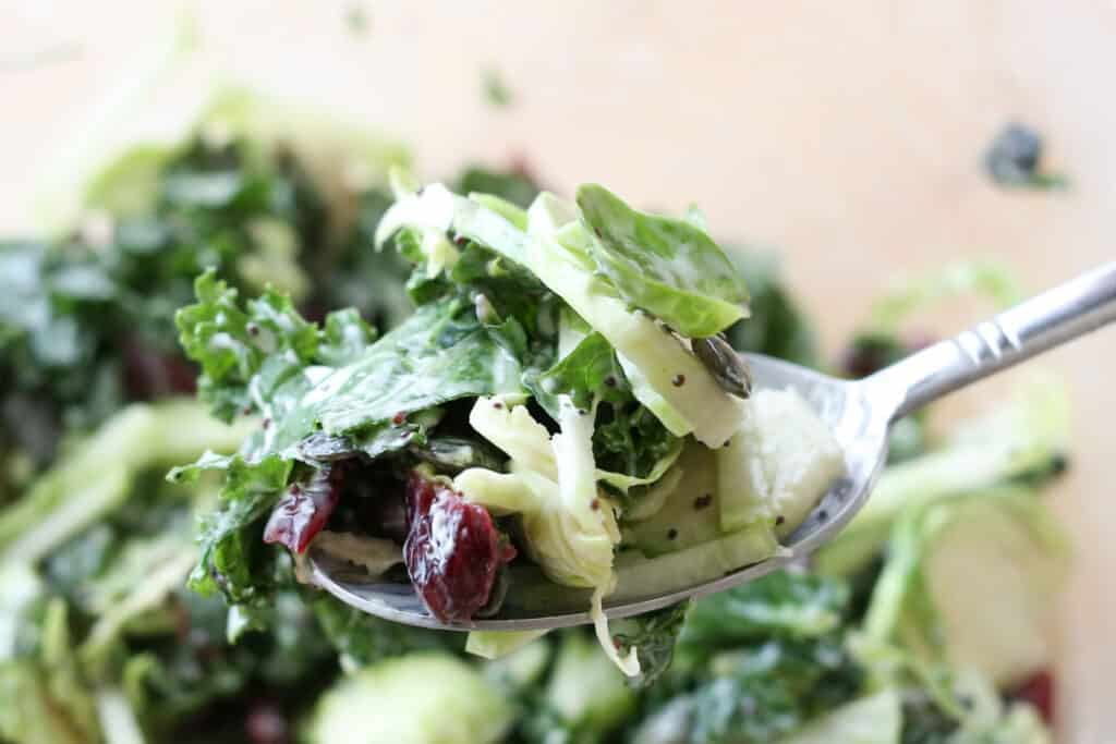Copycat Recipe for Costco's Sweet Kale Vegetable Salad