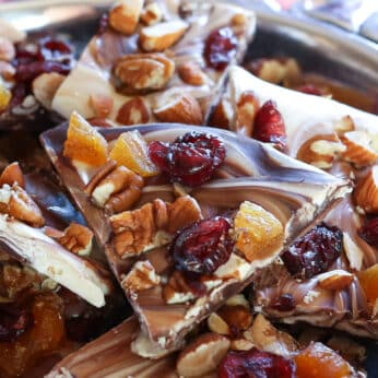 Fruit and Nut Chocolate Bark