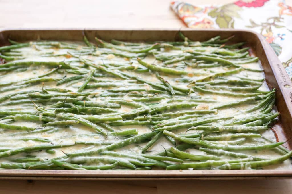 Green Bean Gratin recipe by Barefeet In The Kitchen
