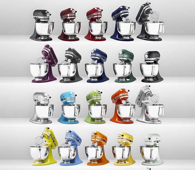Enter to win a shiny new KitchenAid Stand Mixer from Barefeet In The Kitchen!