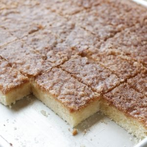 Cinnamon Toast Bars {traditional and gluten free recipes}