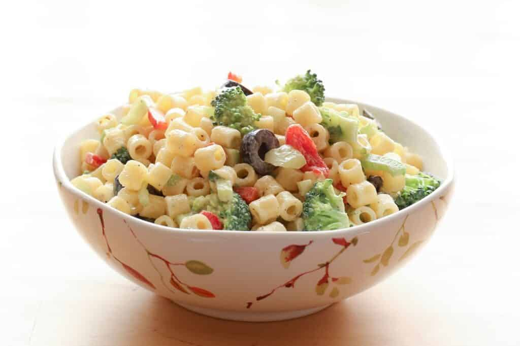 Barefeet In The Kitchen's Top 10 Recipes for 2014 - Creamy Summer Pasta Salad