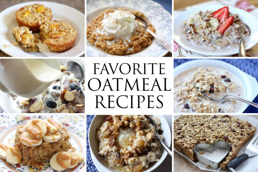 Our Top Ten Favorite Oatmeal Recipes - the very best easy breakfast recipes!