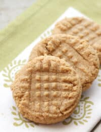 3 Ingredient PB Cookies are a classic recipe that never gets old!