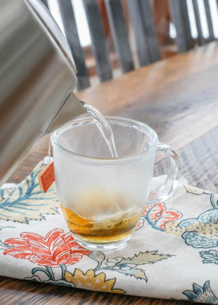 Brew a hot cup of tea like never before!