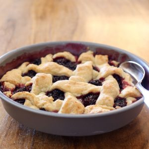 Deep Dish Berry Pie {traditional and gluten free recipes}