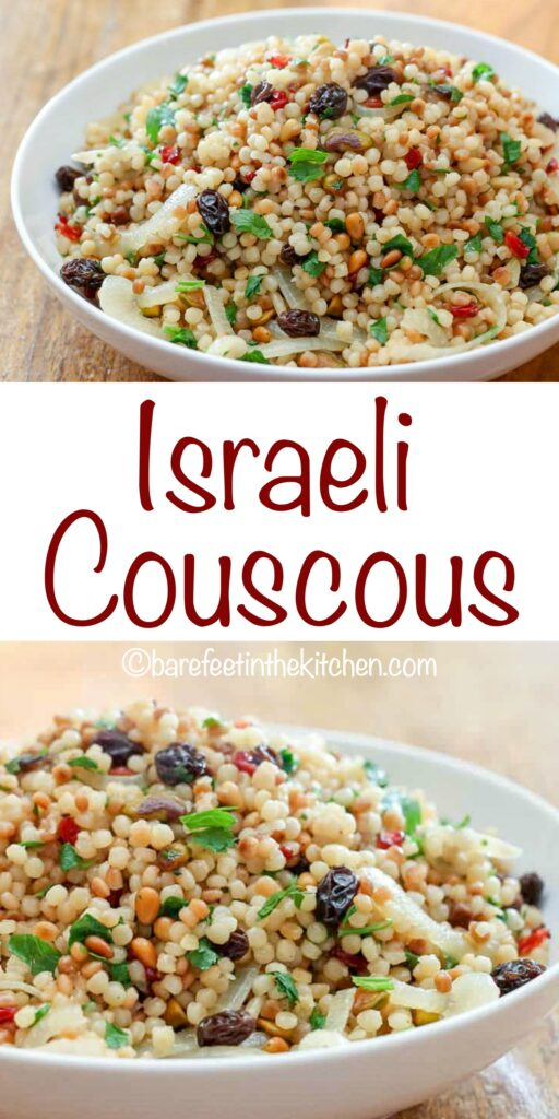 Israeli couscous is a side dish that will have you coming back for more!