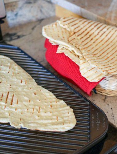 How To Make Laffa Bread
